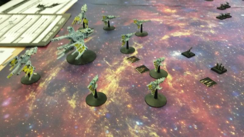 [Navy/Chaos vs Eldars/Ty] Initiation BFG 20150211
