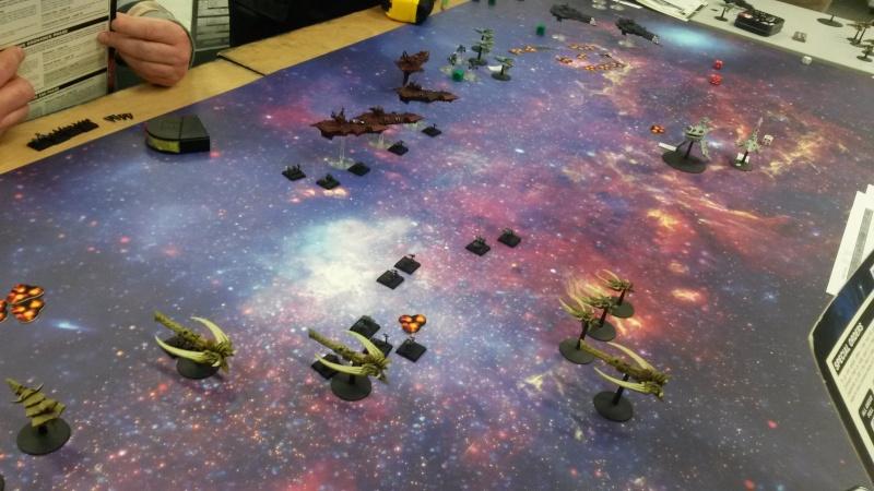 [Navy/Chaos vs Eldars/Ty] Initiation BFG 20150212