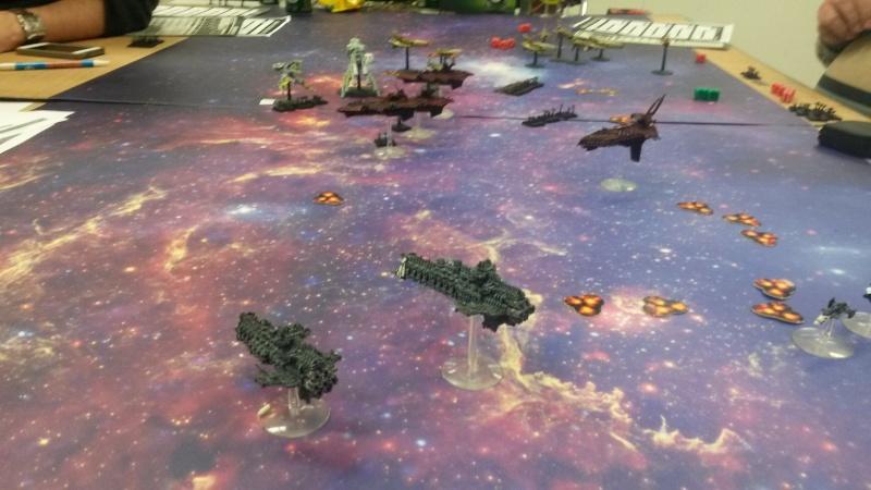 [Navy/Chaos vs Eldars/Ty] Initiation BFG 20150213