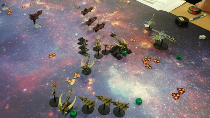 [Navy/Chaos vs Eldars/Ty] Initiation BFG 20150214