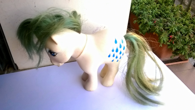 vendo mini pony HASBRO MADE ITALY 1982 310