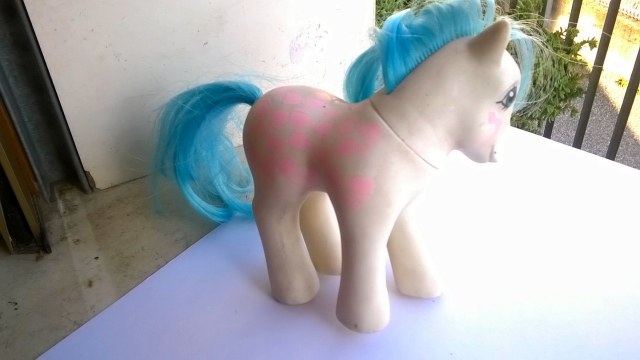 vendo mini pony HASBRO MADE ITALY 1982 610