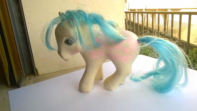 vendo mini pony HASBRO MADE ITALY 1982 710