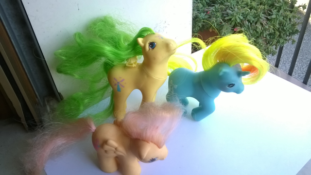 vendo mini pony HASBRO MADE ITALY 1982 810