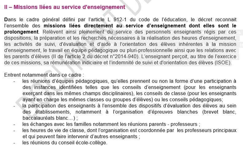 Décharges, pondérations, indemnités, statut...  Toutes les décisions du 12 février 2014 pour la réforme du métier d'enseignant - applicables dès la rentrée 2015. - Page 15 Captur10