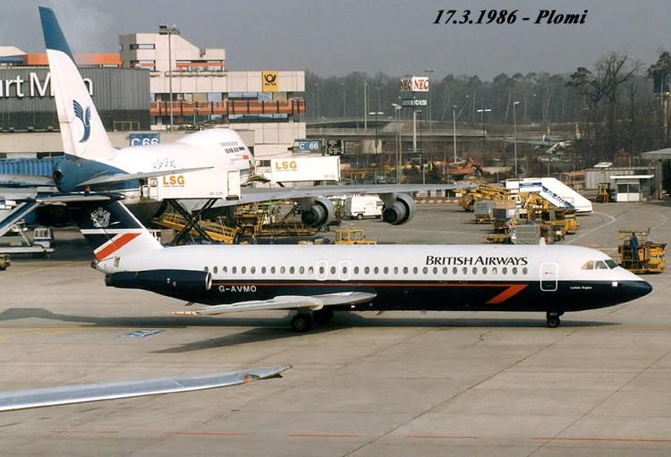 BAC1-11 in FRA 19860310