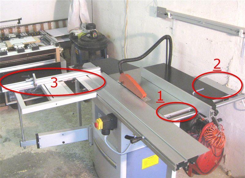 [Présentation] Scie circulaire de mise à format 250 mm Bernardo FKS 1600N 3-modi10