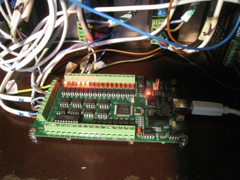 MACH3 carte USB AKZ250 posée, et testée... Akz25010