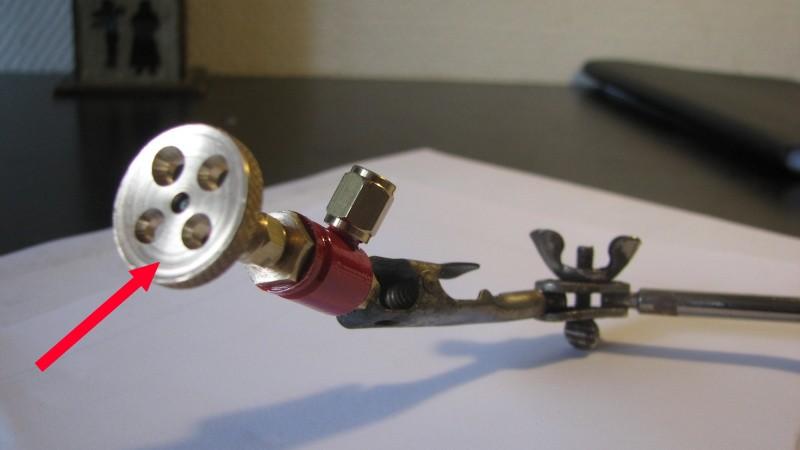 Vannes vapeur 3mm Vanne210