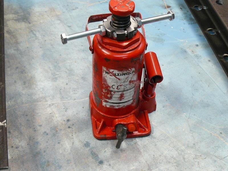 fabrication presse hydraulique maison Presse hydraulique maison P1020222