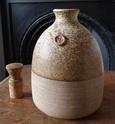 Stoneware flask P1000111