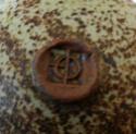 Stoneware flask P1000114