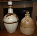 Stoneware flask P1000115
