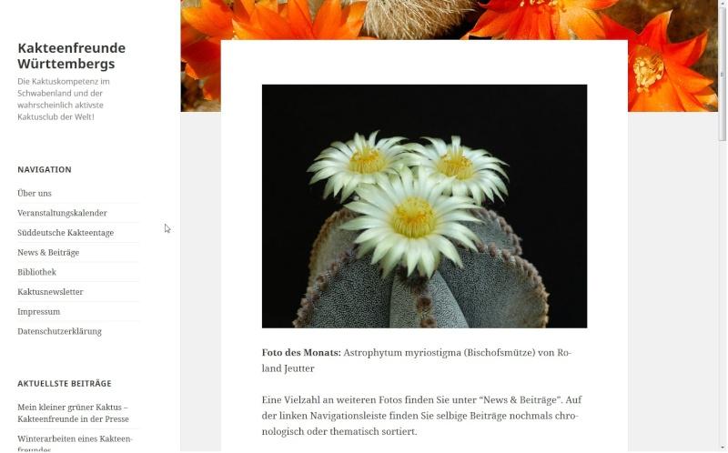 Kakteenfreunde Württembergs - Die Kaktuskompetenz im Schwabenland und der wahrscheinlich aktivste Kaktusclub der Welt! - Seite 2 Standa10