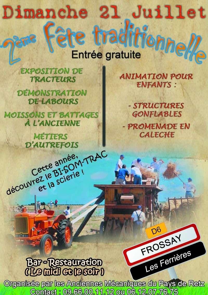 Expo tracteurs à Frossay (44) Affich10