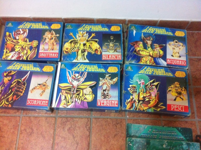 Cavalieri dello Zodiaco Scatola Azzurra e a Tempio G.P 1987 Img-2020