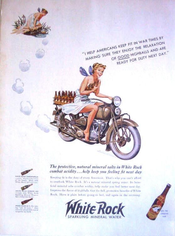 La Harley dans la pub - Page 4 White10