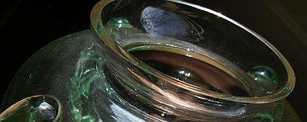 Unknown Glass Vase/bowl Gmb-un13