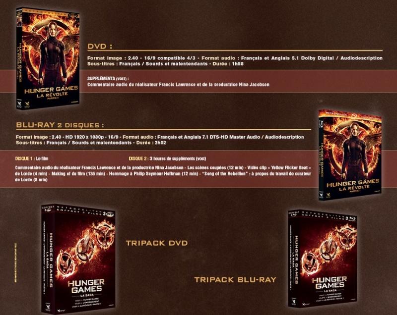 Sortie DVD/Blu-Ray et VOD Hunger Games La Révolte Partie 1 - 19 Mars 2015 10411910
