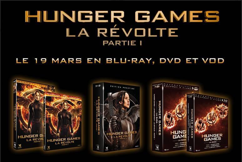 Sortie DVD/Blu-Ray et VOD Hunger Games La Révolte Partie 1 - 19 Mars 2015 10897910