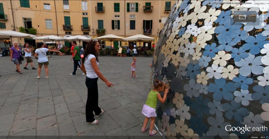 Place de l'Amphithéâtre, (Piazza dell'Anfiteatro), Lucques, Toscane - Italie Piazza14