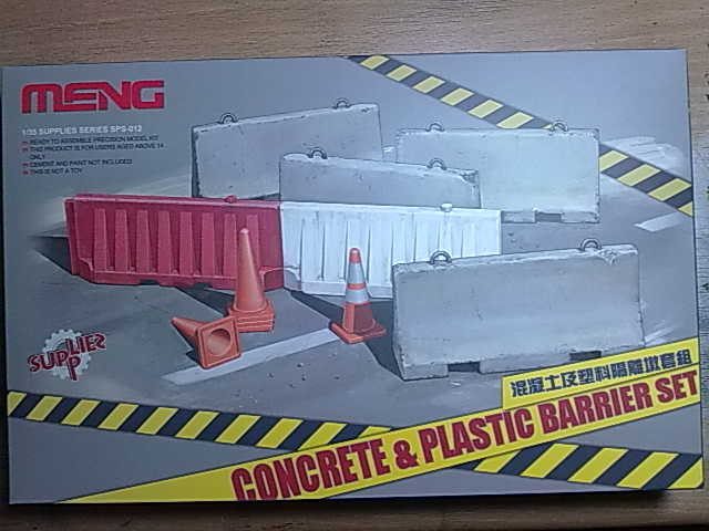 Concrete & Plastic BarrierSet 05022010