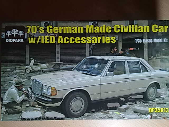 70`s German Made Civilian Car w/IED Accessaries 13022012