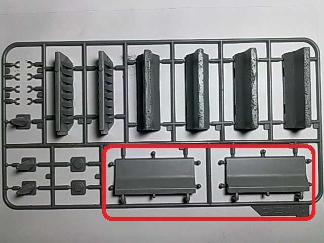 Concrete & Plastic BarrierSet / Meng, 1:35 1y10