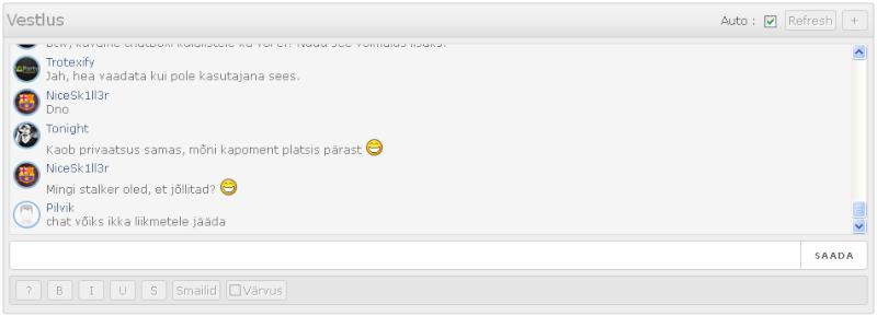 Chatboxi versioon Chatbo10