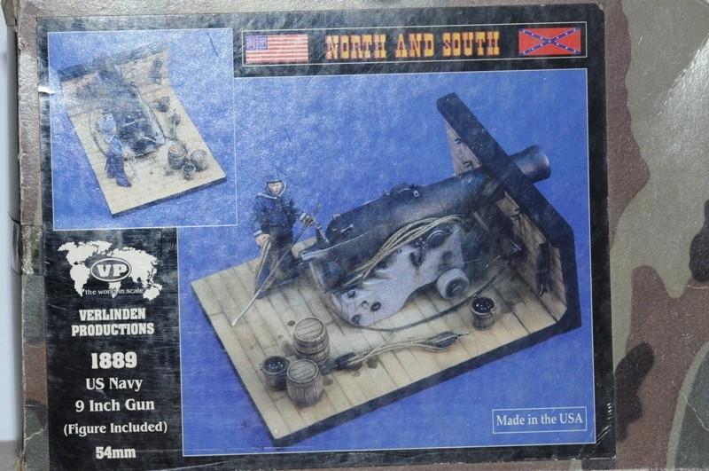 Us Navy 9 inch Gun um1889 - Umbau eines Verlinden Bausatzes Dsc_9110