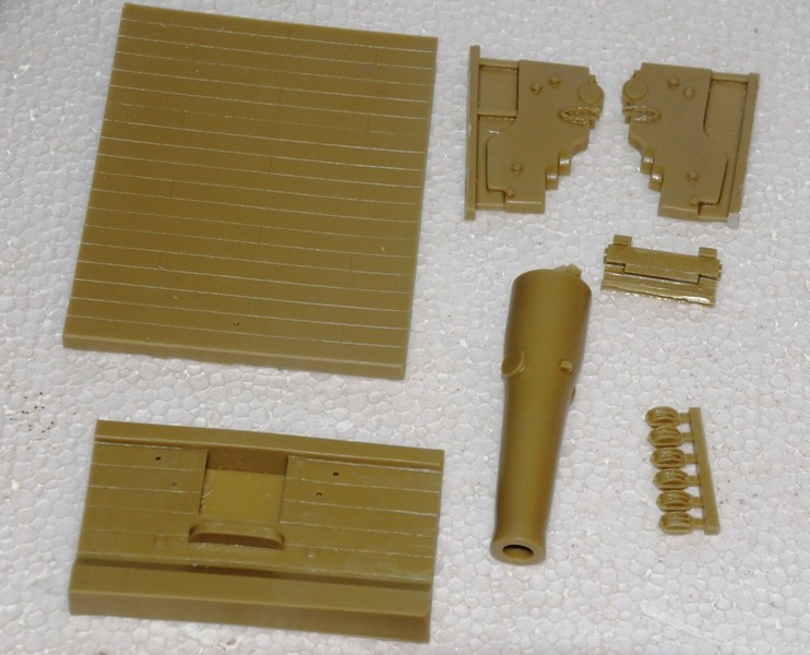 Us Navy 9 inch Gun um1889 - Umbau eines Verlinden Bausatzes Dsc_9111
