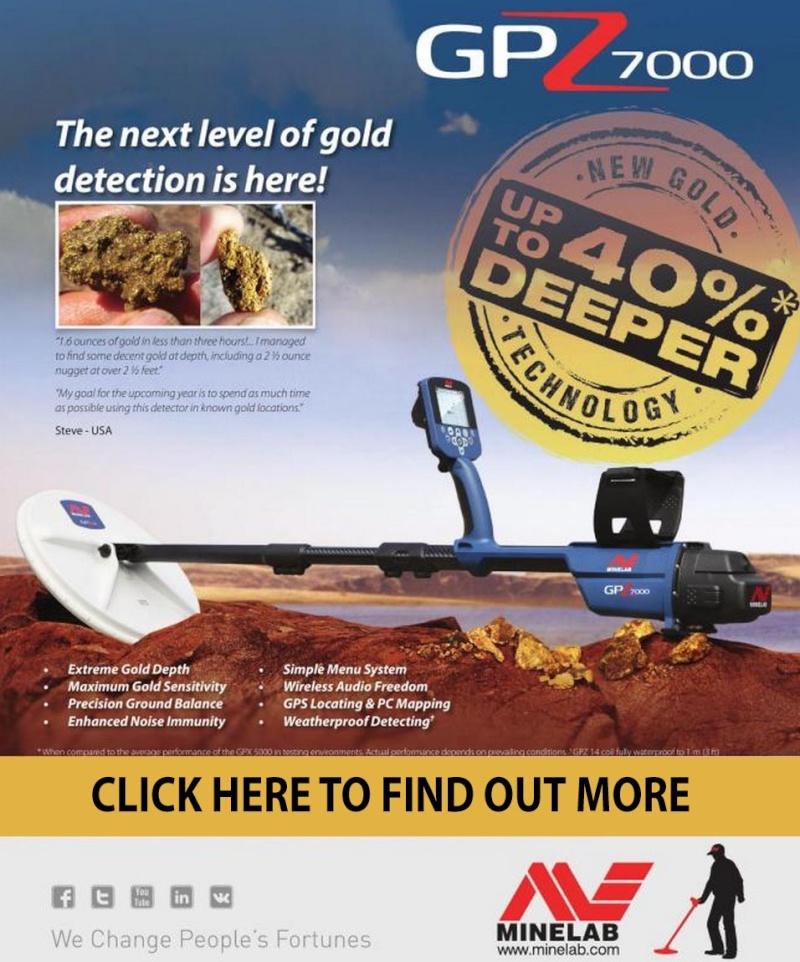 Sneak Peek - New Minelab GPZ 7000 Metal Detector Gpz70010