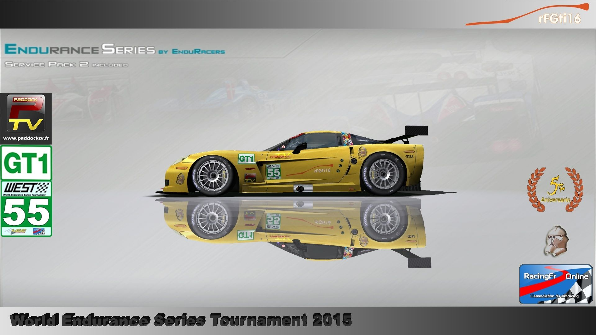 WEST 2015 Endurance Series championship P2/GT1 00310