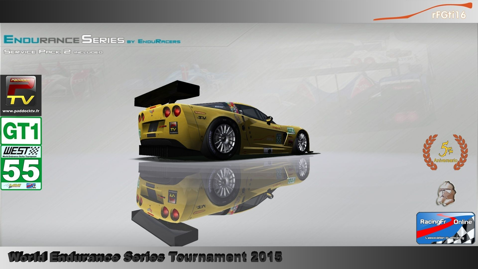 WEST 2015 Endurance Series championship P2/GT1 00710