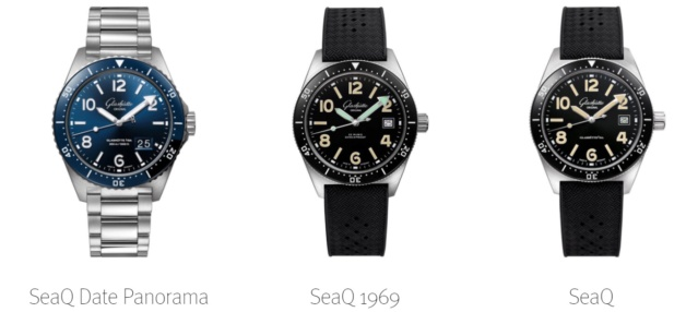News : GLASHUTTE ORIGINAL SeaQ , la plongeuse GO 132