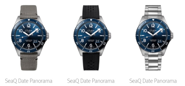 News : GLASHUTTE ORIGINAL SeaQ , la plongeuse GO 715