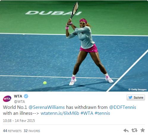 WTA DUBAI 2015 : infos, photos et vidéos Sans_177
