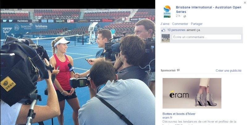 WTA BRISBANE 2015 : infos, photos et vidéos Sans_t13