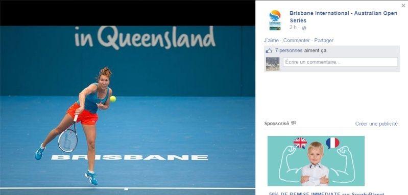 WTA BRISBANE 2015 : infos, photos et vidéos Sans_t14