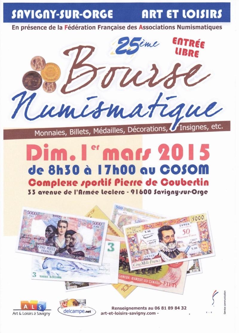 25ème Bourse Numismatique de Savigny-sur-Orge (91600) Affich10