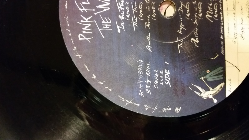 Vinile The wall - Pink Floyd - Pagina 2 20150115
