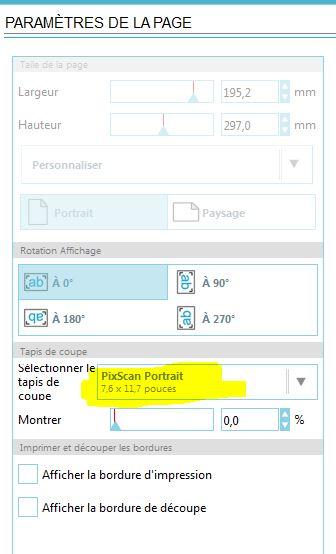 PROBLEME de  Print and cut et forcement pixscan Captur49