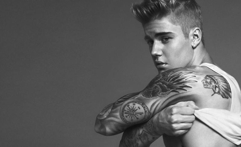 Justin`s Calvin Klein Jeans Foto Shooting Spring11