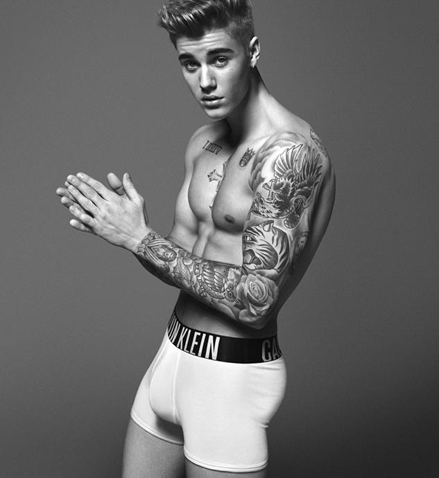 Justin`s Calvin Klein Jeans Foto Shooting Spring12