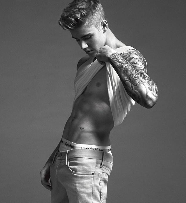 Justin`s Calvin Klein Jeans Foto Shooting Spring13