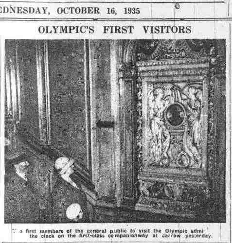 Le Grand Escalier de l'Olympic des Années 30... - Page 3 Olympi10