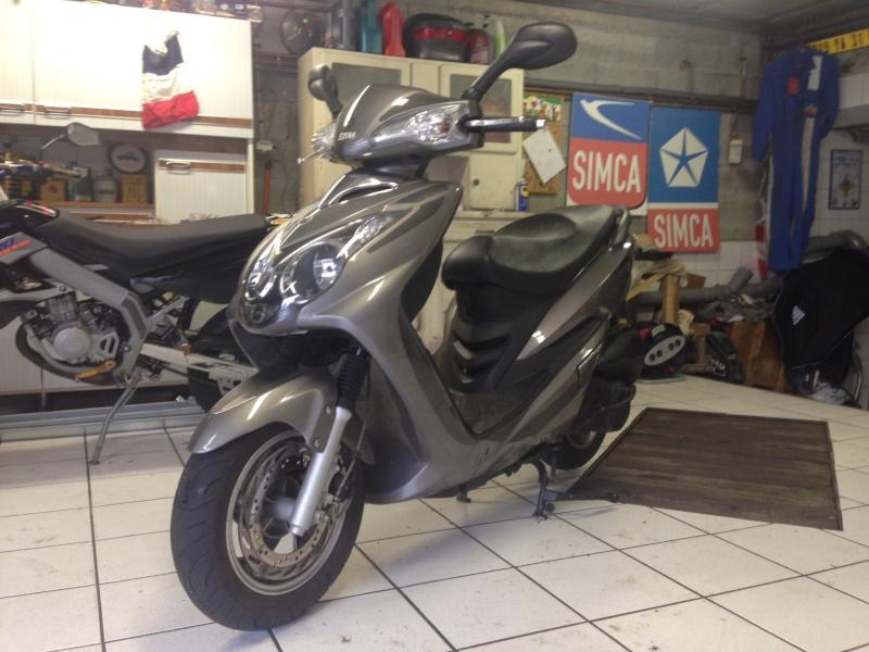 (Vendu) Scooter 125 SYM VS Img_4811