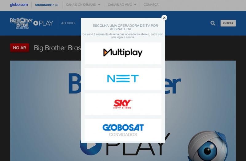 play - Quem assinou o BBB 15 poderá assistir também pelo Globosat Play Image10