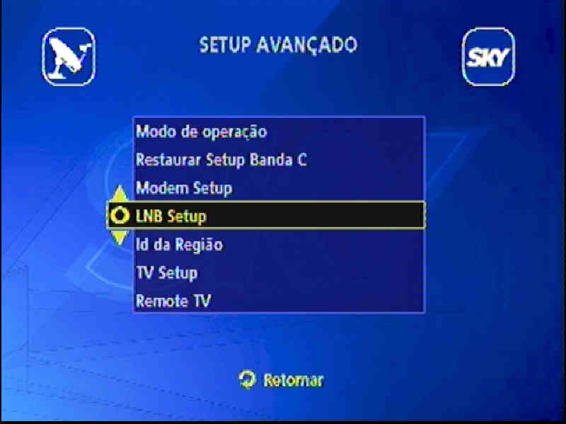 Guia + Tutorial Ilustrado canais Banda C na SKY Passo015