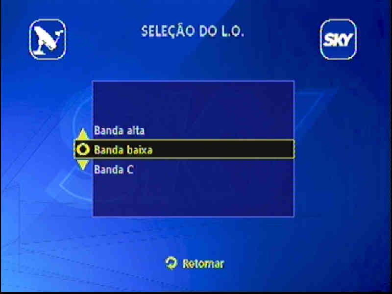 Guia + Tutorial Ilustrado canais Banda C na SKY Passo017